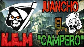 CALL OF DUTY GHOST - JUANCHO EL CAMPERO SACO EL K.E.M