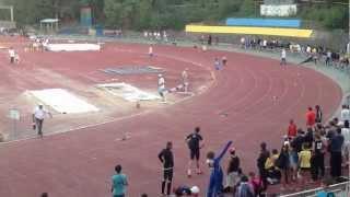 Легкая атлетика 400м. Ялта. Юра Мегега