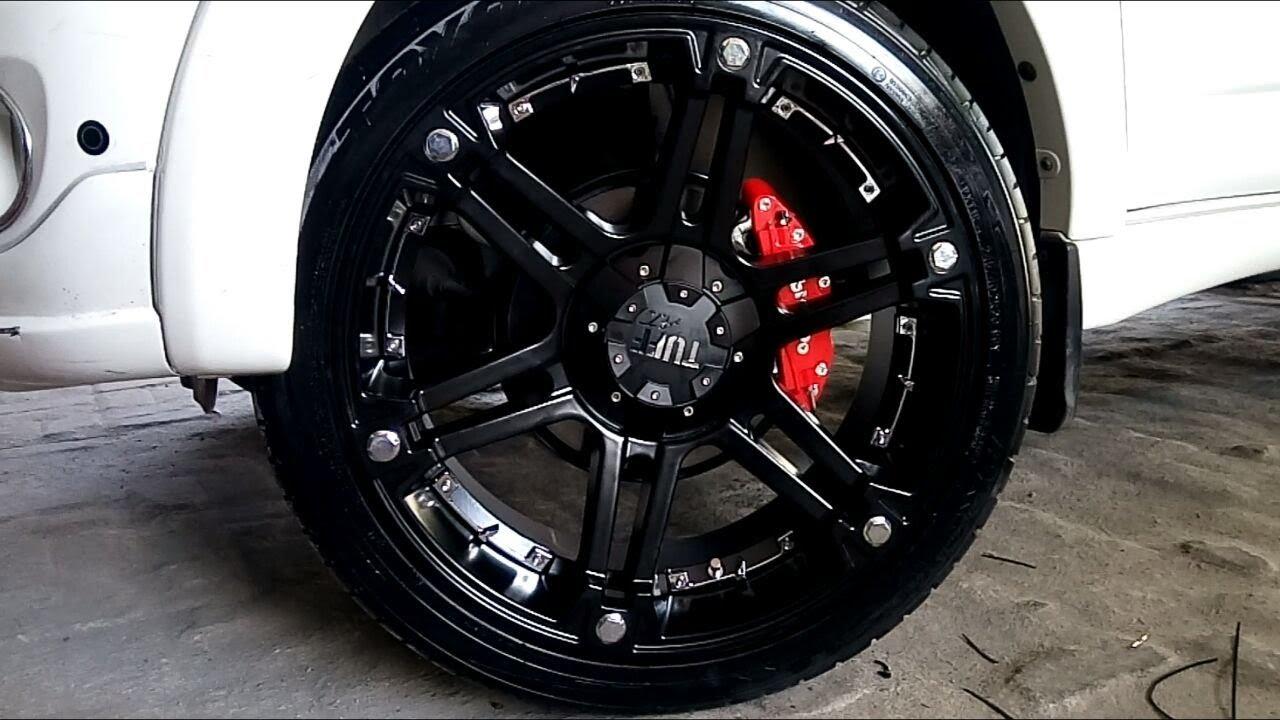 Modifikasi Toyota Rush Using Velg Tuff Ban Toyo Proxes T1r Youtube