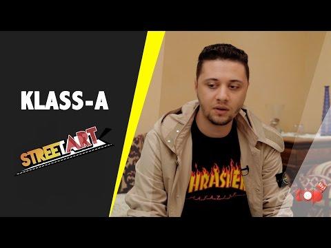 Interview ''KLASS-A'' / غادي ندوش لروابا  /  #StreetART