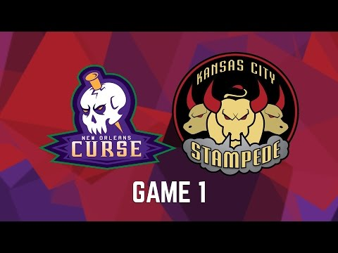 New Orleans Curse vs. Kansas City Stampede - Game 1