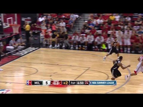 Highlights: Kevin Jones (20 points) at NBA Summer League, 7/15/2015