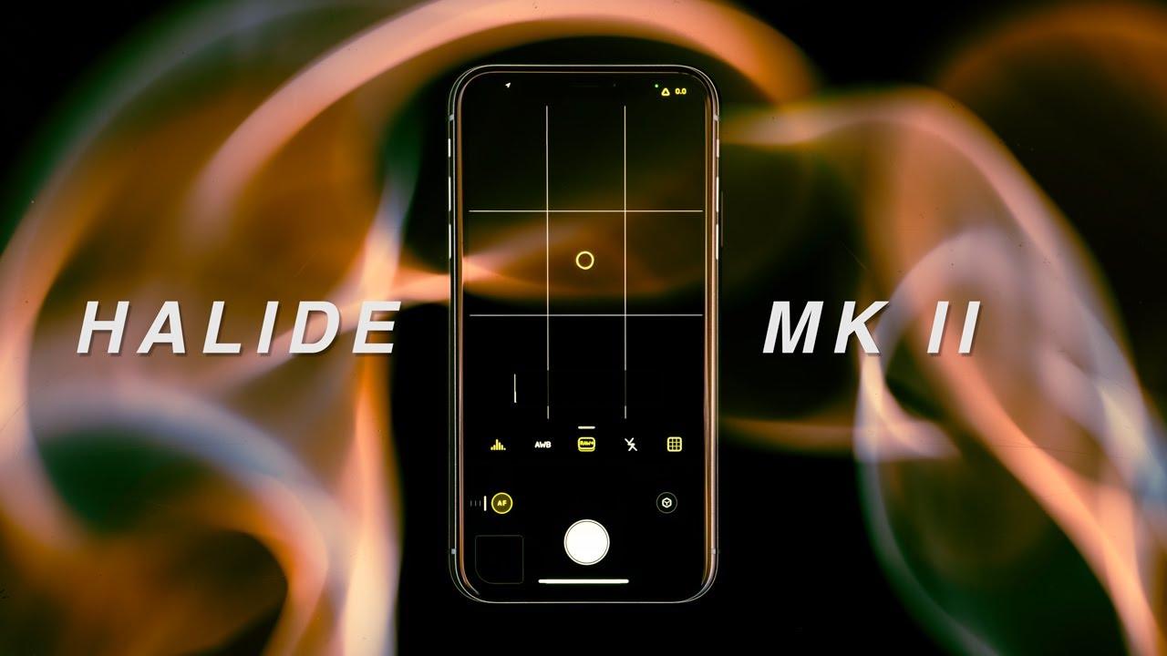 Download Halide Mk II iPhone camera app review
