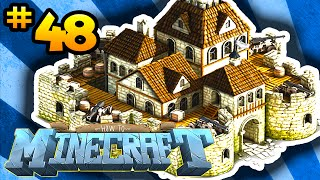 How to Minecraft: DEFENDING THE BASE! (48) - w/ Preston, Choco & Kenny!