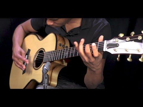 """Taylor Guitars 914ce """"Wildwood and Steel"""" Blackheart Sassafras Prototype  •  SN: 1111216106"""