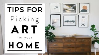 Interior Design | Tips For How To Pick Art For Your Home | House To Home Series