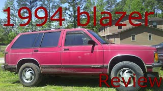 1994 Chevrolet Blazer review