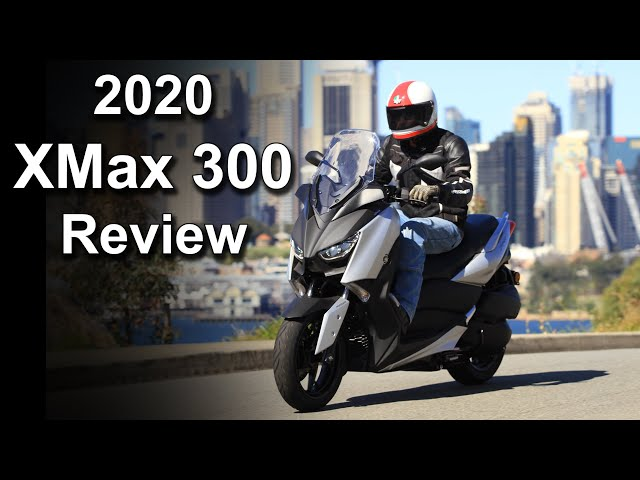 2020 Yamaha XMax 300 Review | Convenience | Storage | Tech