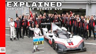 Porsche 919 Hybrid Evo Explained