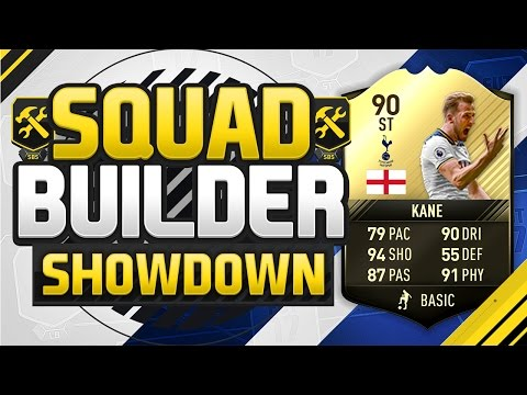 FIFA 17 SQUAD BUILDER SHOWDOWN!!! 90 RATED HARRY KANE!!! Fifth Inform Kane Squad Duel