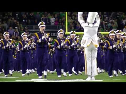 2016 Notre Dame Band Pregame