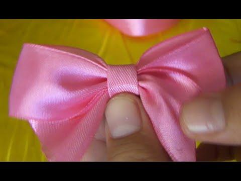 DIY-kreasi dari pita satin-creations of satin ribbon - YouTube