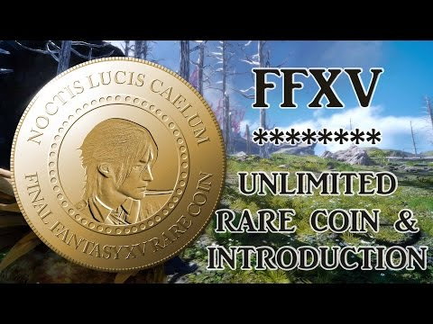 Final Fantasy XV ℹ️ Rare Coin + (Unlimited) R.N.G. Items Loc