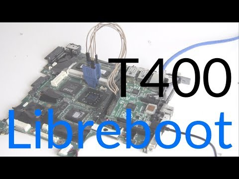 Installing Libreboot on a ThinkPad T400 - 3000 Subscriber Special