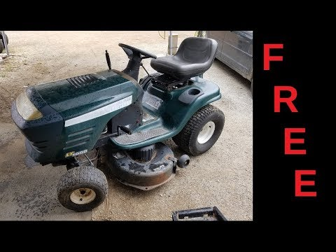Tractor Hunting FREE Craftsman LT1000