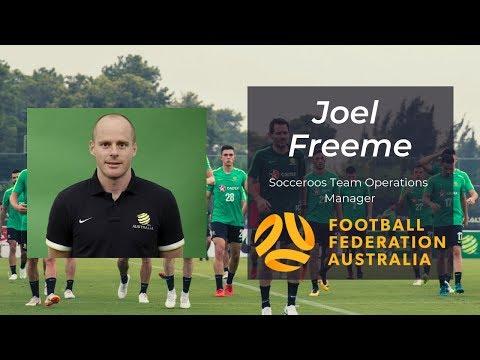 Joel Freeme | Socceroos Team Manager
