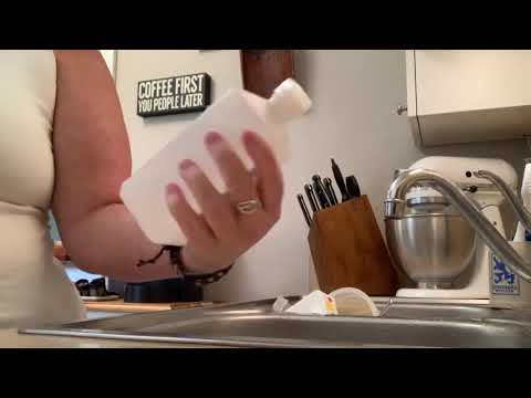 Glitter Epoxy Marble Tumbler Step 4