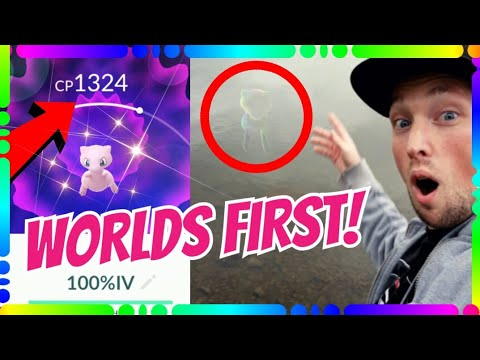 CATCHING WORLDS FIRST PERFECT MEW In Pokemon Go!