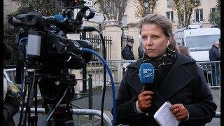 Mort de Johnny Hallyday : Ambiance devant son domicile (6 décembre 2017, Marnes-la-Coquette, France)