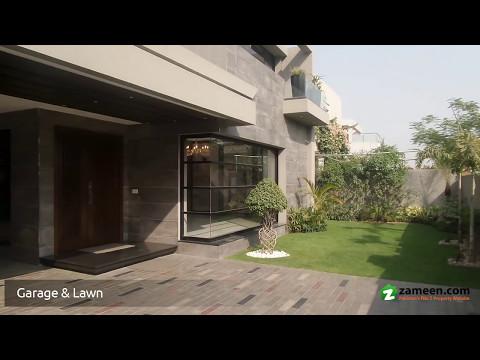 MAZHAR MUNEER'S DESIGNED 1 KANAL HOUSE FOR SALE IN DHA PHASE 6 - BLOCK B LAHORE