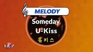 [KPOP MR 노래방] Someday - 유키스 (With Melody Ver.)ㆍSomeday - U-K…
