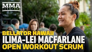 Bellator 213: Ilima-Lei MacFarlane Says She'll Likely Be 'Bawling' During Walkout