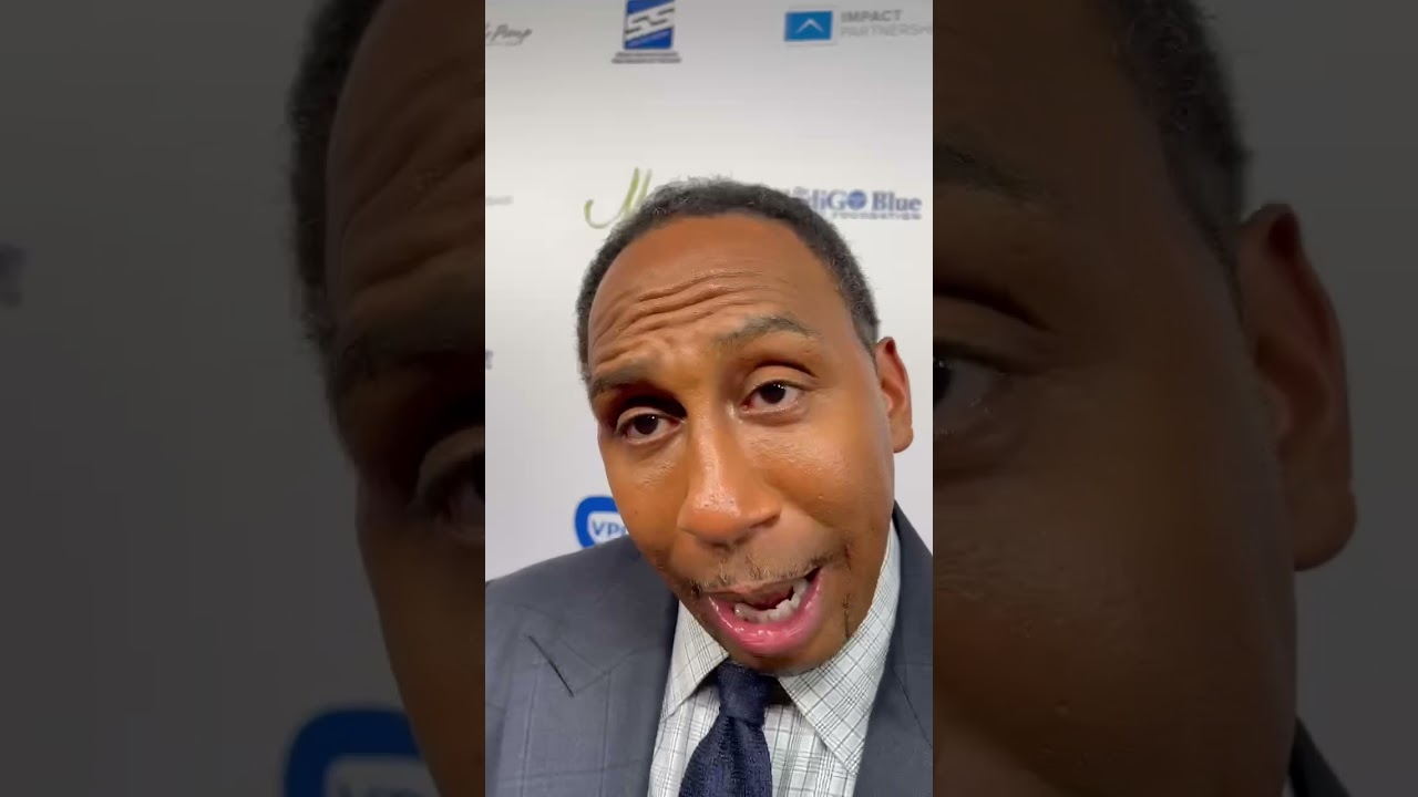 SHOUTOUT FROM STEPHEN A SMITH! #shorts