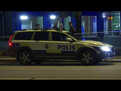 Skotten från mordet i Malmö hördes i livesändning