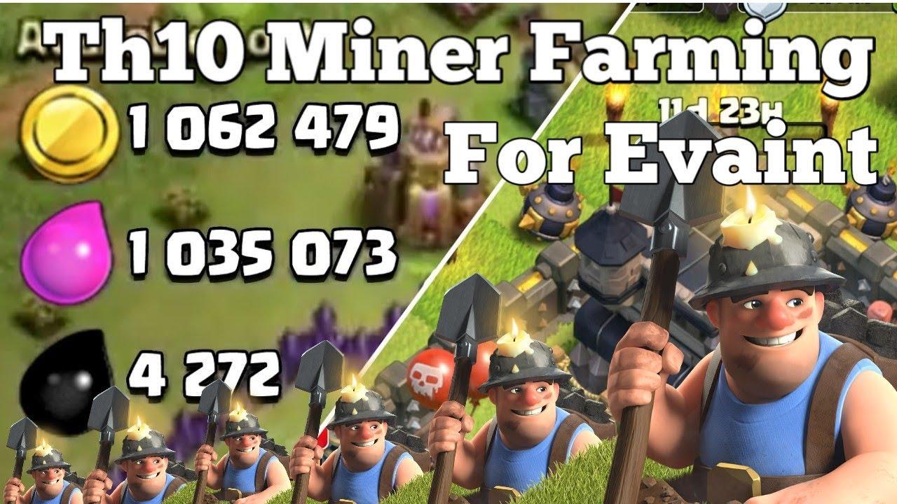 Th10 Farming Strategy 2019/Miner Farming Strategy Evry Bass