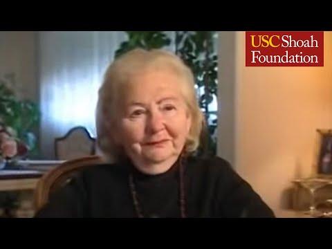 Holocaust Survivor Ester Fiszgop Testimony