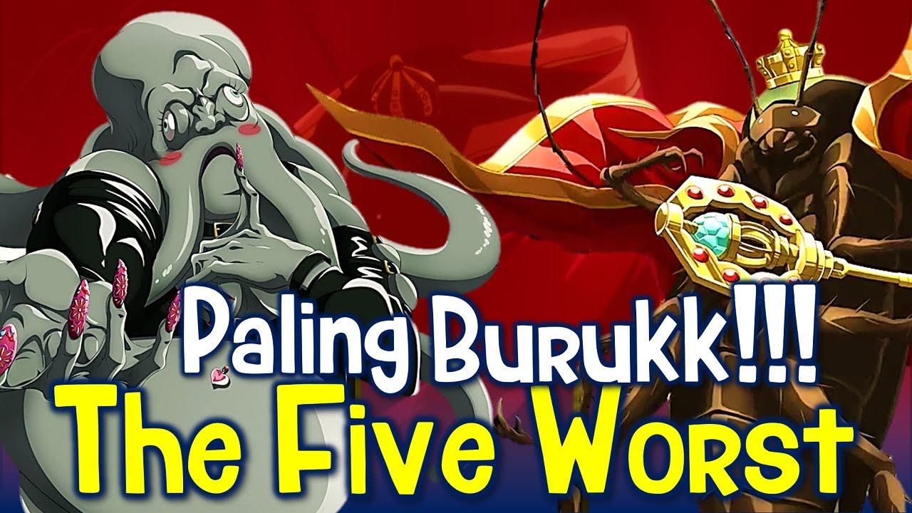 5 NPC Paling Buruk di Nazarick, The Five Worst #Overlord
