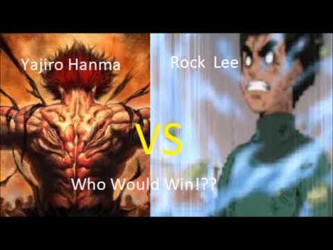 Yajiro Hanma vs Rock lee