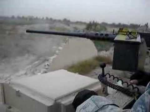 M1A2 Abrams Tank crushes wall