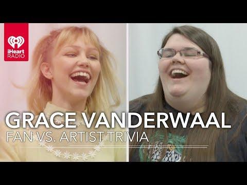 Grace VanderWaal Challenges Fan To Trivia About Herself! | Fan Vs. Artist Trivia