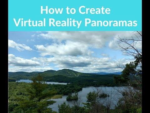 How to create virtual reality panoramas