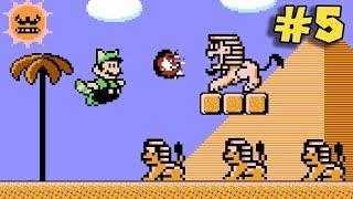 Esfinges Asesinas !! - Jugando Super Mario Bros. 3 Mix con Pepe el Mago (#5)