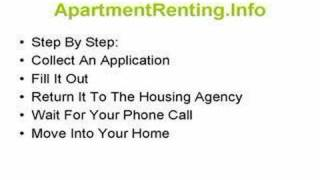 Low Income Apartment For Rent