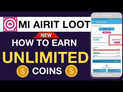 MiAirit App Unlimited Coin    How To Earn Unlimited Coins On MiAirit    Unlimited Trick   