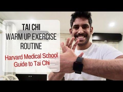 Tai Chi Warm Up Exercise Routine | Harvard Medical School Guide to Tai Chi Warm up Exercises