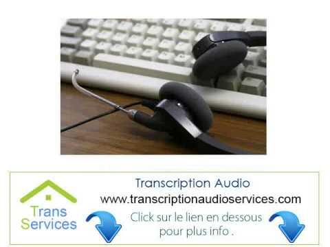 offshore Agence de Transcripteur Audio En Texte