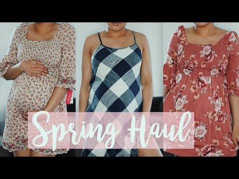 AFFORDABLE SPRING TRY ON CLOTHING HAUL