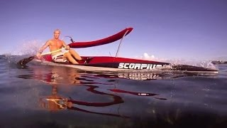 OC-1 Outrigger Canoes Surfing Waves - People are Awesome - Compilation (vol. - 1)  2014