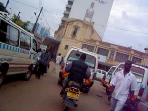 william street to kampala road