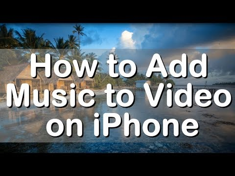 How To Add Music To Video On Iphone Youtube