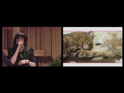Crystal & Candice Sipe singing Cat Duet with Paula Dahl on Piano