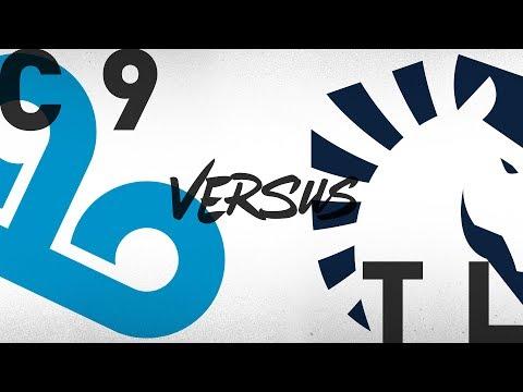 Cloud 9 vs Team Liquid  vod
