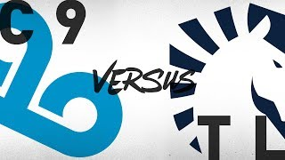 C9 vs. TL - Week 5 Day 1 | NA LCS Summer Split | Cloud9 vs. Team Liquid (2018)