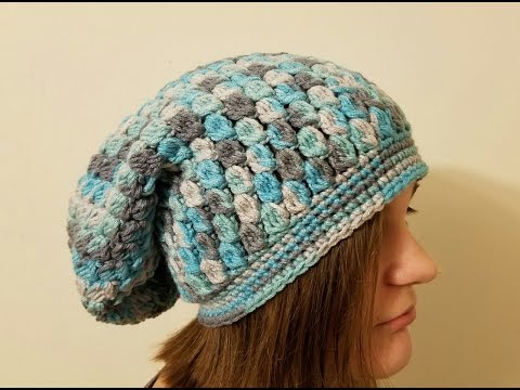 CROCHET How To #Crochet The Icy Tears Slouchy Hat Beanie #TUTORIAL  #361 LEARN CROCHET supersaver