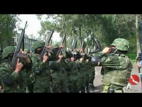 Elementos del ejército realizan exhibición de combate a la delincuencia en Veracruz