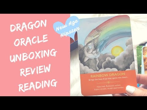 Dragon Oracle by Diana Cooper | Unboxing + Review + Reading